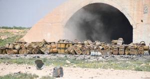 (図1) シリア政府軍のシャイラット空軍基地