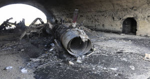 (図3) シリア政府軍のシャイラット空軍基地