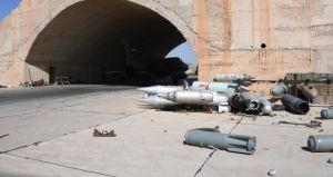 (図4) シリア政府軍のシャイラット空軍基地