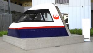 日本航空のフライト・シミュレータ展示品